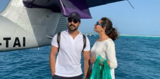 Ram Charan romance with wife Upasana in Maldives