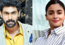 Rana Daggubati eyes on Alia Bhatt