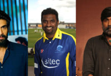 Rana and Vijay Sethupathi and Muttiah Muralitharan