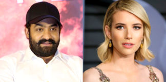 Jr NTR and Emma Roberts