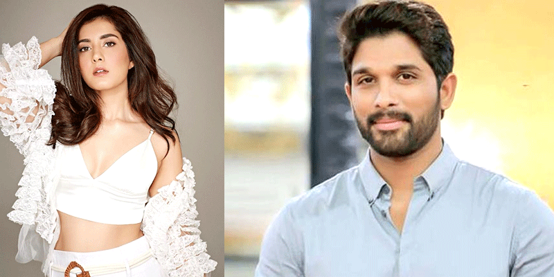 Raashi Khanna locked for Allu Arjun Icon
