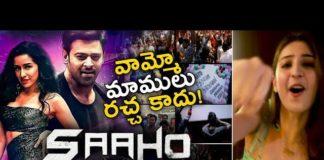 Saaho Movie Psycho Saiyaan Song Public Reaction Prabhas