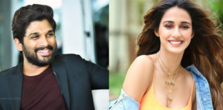 Allu Arjun And Disha Patani