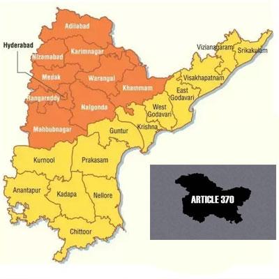 Andhra and Telangana