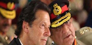 Imran Khan and Qamar Javed Bajwa