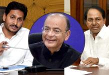 Jagan & KCR condole Arun Jaitley death