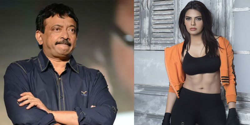 Ram Gopal Varma And Sherlyn Chopra