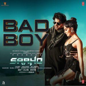 Saaho Bad Boy Song