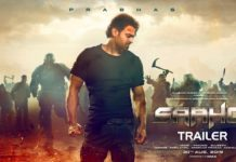 Saaho Hindi Trailer Poster