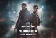 Saaho Pre release event