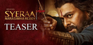 Sye Raa teaser creates record but not in Top 5