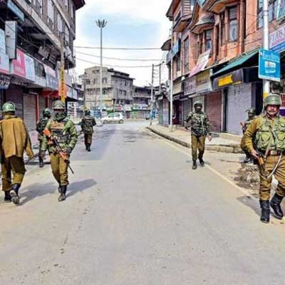 The US closely having an eye on Jammu and Kashmir territorial status