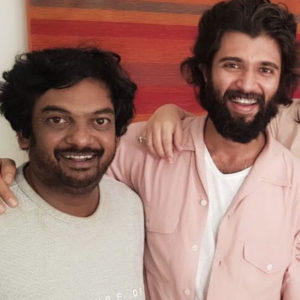 Vijay Deverakonda and Puri Jagannadh