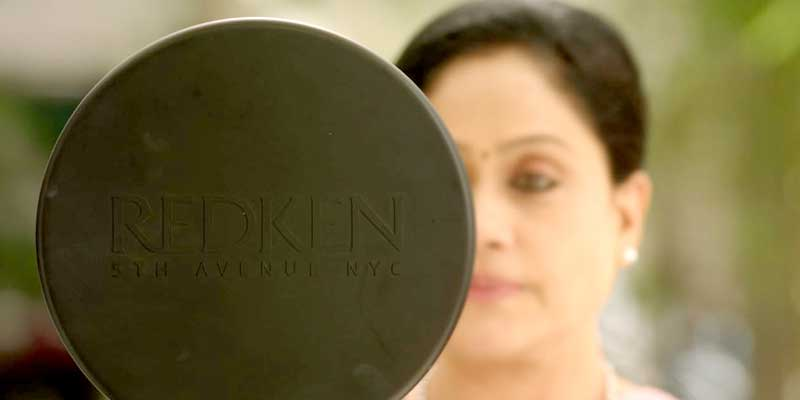 Vijayashanti's make-up time has arrived