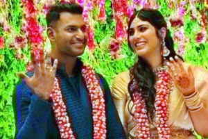 Vishal and Anisha Alla