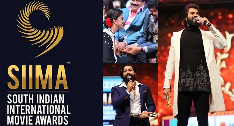 SIIMA 2019 winners list : Rangasthalam Wins Big - tollywood
