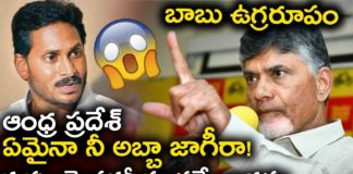 AP Ex CM Chandrababu Serious Warning To APCM YS Jagan