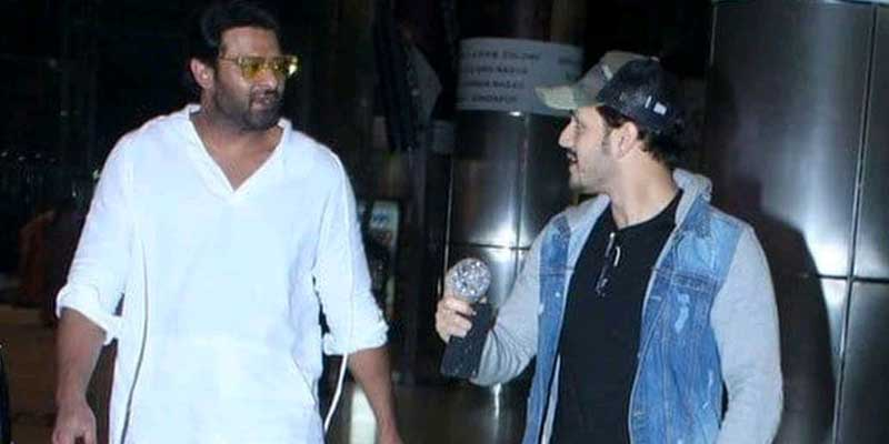 Allot dates to Akhil, Pushed by Prabhas