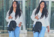 Anushka Shetty spotted in bulky avatar