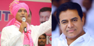 KTR and Harish Rao