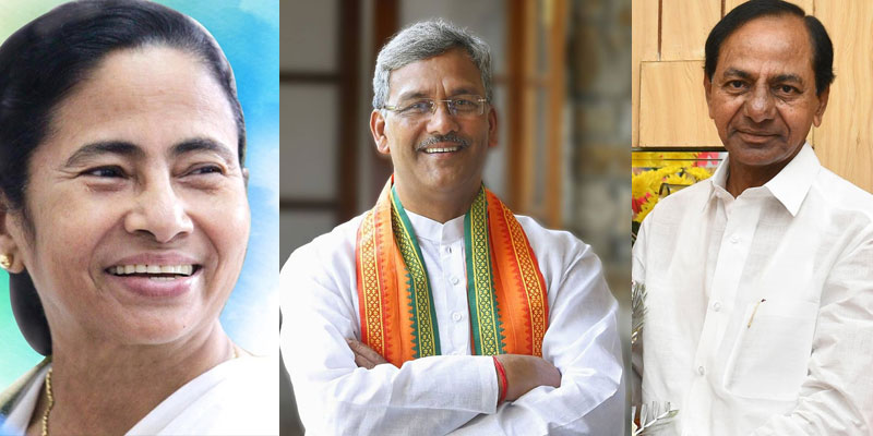 Mamata Banerjee, Trivendra Singh, and KCR extends their greetings on Hindi Diwas