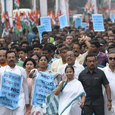 NRC & Privatization Bengal CM calls for a rally