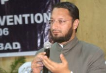 Owaisi strongly responds to Former J & K CM's detention