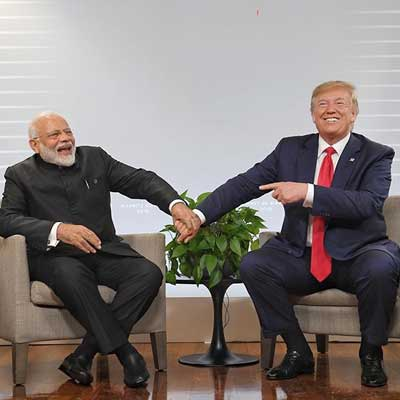 PM Modi vs US Prez Trump, for negotiation skills