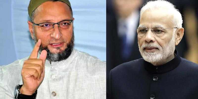 Owaisi: PM diverting real issues by taking Cow and Om
