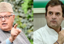 Rahul Gandhi slams on Farooq Abdullah's detention