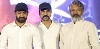 Rajamouli running to Jr NTR and Ram Charan to avoid fight
