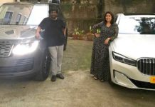Range Rover for Puri Jagannadh and BMW for Charmee