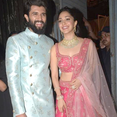 Spotted! Vijay Deverakonda with Kabir Singh Girl