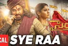 Sye Raa Title Song: Electrifying song with Goosebumps lyrics