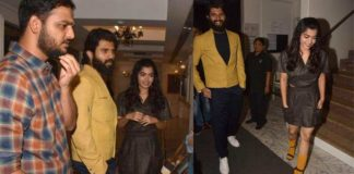 Vijay Deverakonda spotted with rumor Girl Friend last night