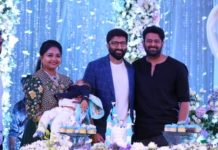 Prabhas caught at Gopichand son birthday party