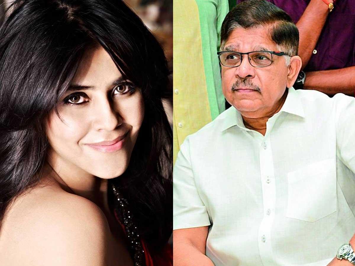 Allu Aravind to compete with Ekta Kapoor