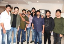 Allu Arjun throws lavish party for Sye Raa Team