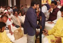 Balakrishna attends Sye Raa celebration