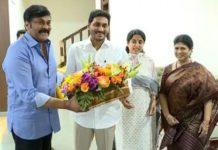 Chiranjeevi meets AP CM Jagan Mohan Reddy