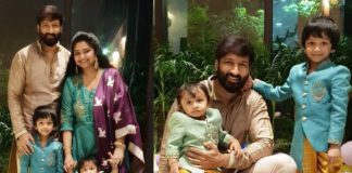 Gopichand shares Family Photo