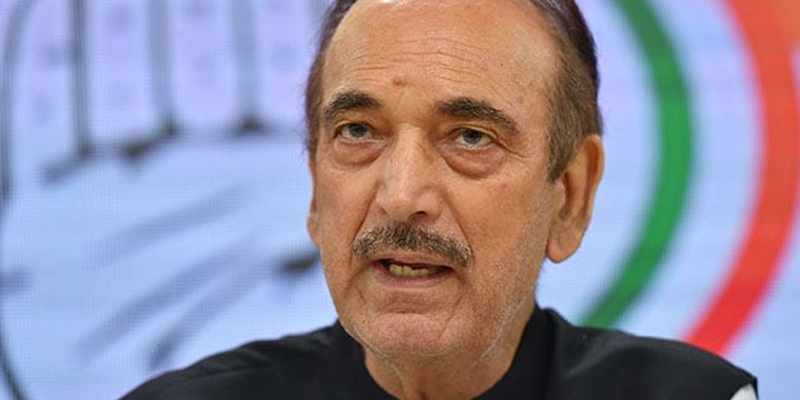 Gulam Nabi Azad describes situation of Jammu and Kashmir