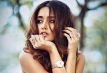 Ileana comments on Shirtless young actor