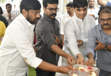 Is this the storyline of #Chiru152 ..?