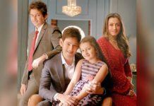 Mahesh Babu and his family TV Ad