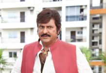 Mohan Babu going in Style to rob a bank?