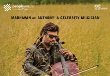 Nishabdham First Look: Madhavan A celebrity musician