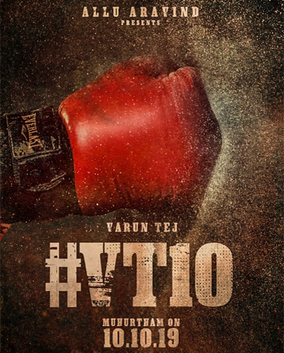 Official #VT10:  Varun Tej in Allu Aravind Film