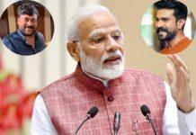 PM Narendra Modi invites Chiranjeevi & Ram Charan