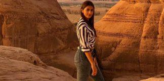 Pooja Hegde in Saudi Arabia